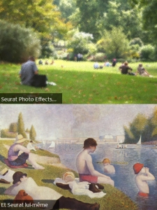 Seurat Photo Effects