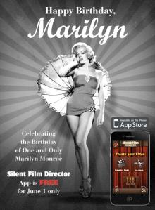 Silent Film Director Ad