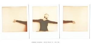 Triptyque Polaroid - série des aliens ( appareil Polaroid 1000 et film Chocolate )
