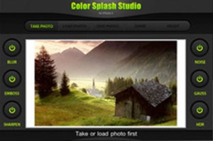 Color Splash Studio for iPhone 4