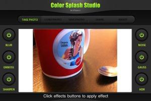 Color Splash Studio HD for iPhone 4