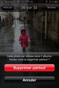 Dossiers iOS 5