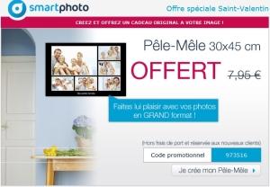 Promo pêle-mêle Smartphoto