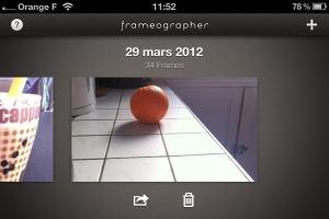 Frameographer